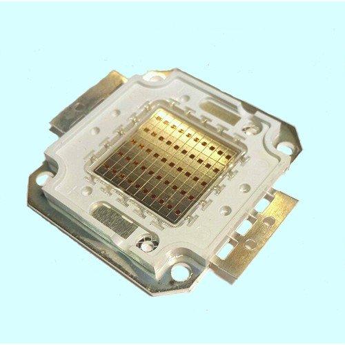 Светодиодная матрица LED 50Вт 6500К 4600Лм 450-460nm(синий)