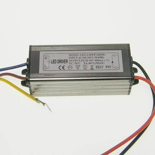 Блок (драйвер) для светодиодного прожектора 30Вт 900мА, IP65