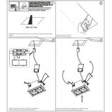 Модульний світильник Ideal Lux LIKA TRIM 4W 206196