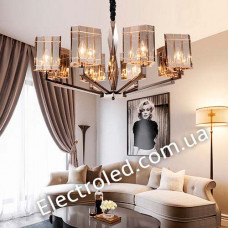 Люстра Top Glass 8-light Chandelier by Officina Luce