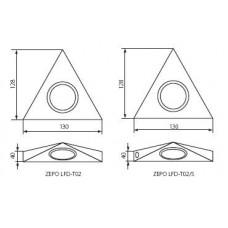 Меблева підсвітка Kanlux ZEPO LFD-T02-C/M 4381
