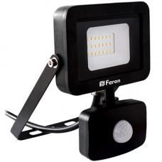 Світлодіодний прожектор Feron LL-802 20W с датчиком движения 32263