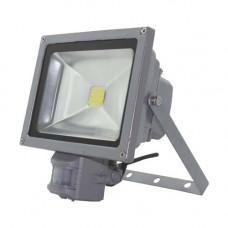 Світлодіодний прожектор Feron LL-834 20W с датчиком движения 12985