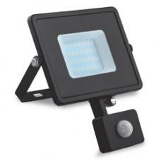 Світлодіодний прожектор Feron LL-906 20W с датчиком движения 29556