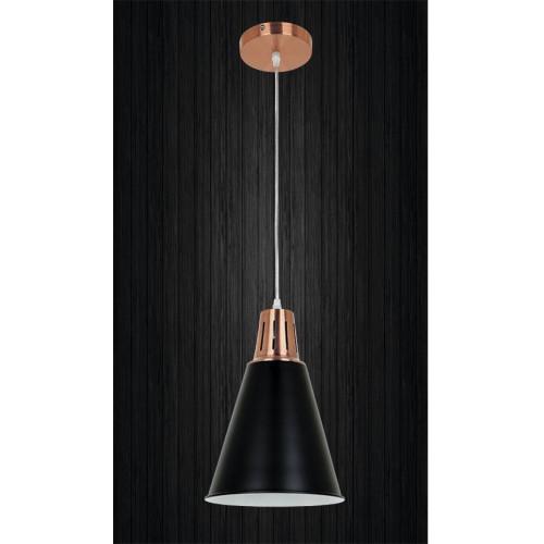Подвесной светильник ЛОФТ PL518099-1 RC+SBK