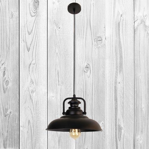 Подвесной светильник ЛОФТ PL529020-1 BK
