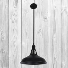 Подвесной светильник ЛОФТ PL079183-1 BK (300)