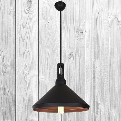 Подвесной светильник ЛОФТ PL526831-1 BK