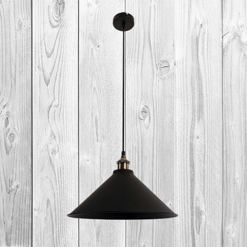 Подвесной светильник ЛОФТ PL526855-1 BK (360)