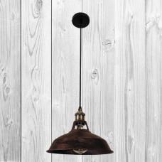 Подвесной светильник ЛОФТ PL526857-1 BK+BR