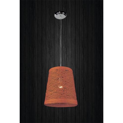 Подвесной светильник ЛОФТ PL2080066-1 оранжевый