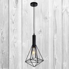 Подвесной светильник ЛОФТ PL529084-1 BK