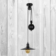 Подвесной светильник ЛОФТ PL079204-1 BK