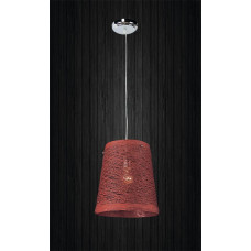 Подвесной светильник ЛОФТ PL2080066-1 красный