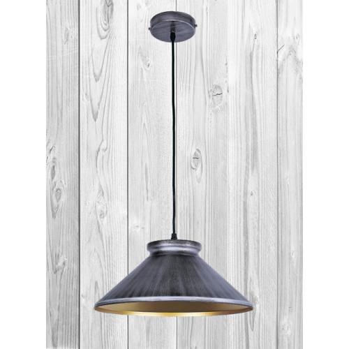 Подвесной светильник ЛОФТ PL20P81449-1 текстура текстура нешлифованного металла