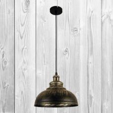 Подвесной светильник ЛОФТ PL526858-1 BK+GD
