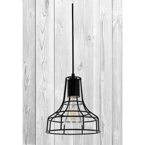 Подвесной светильник ЛОФТ PL528876-1 BK