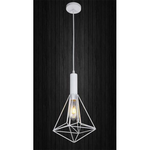 Подвесной светильник ЛОФТ PL529084-1 WH