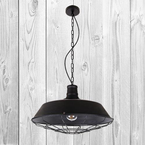 Подвесной светильник ЛОФТ PL526862-1 BK (460)
