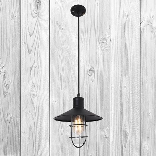 Подвесной светильник ЛОФТ PL079152-1 BK (270)