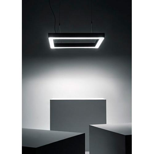 Светодиодный светильник в алюминиевом профиле Prima Tech Frame Standart 500х500