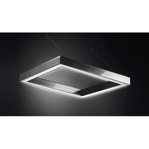 Светодиодный светильник в алюминиевом профиле Prima Tech Kube Premium 1000х1000