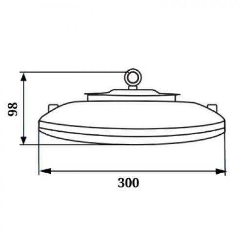 Светодиодный светильник UFO LED 100W 2139