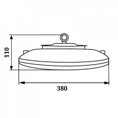 Светодиодный светильник UFO LED 200W 2141
