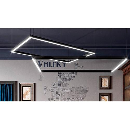 Светодиодный светильник в алюминиевом профиле Prima Tech Kare Premium 3000х1500