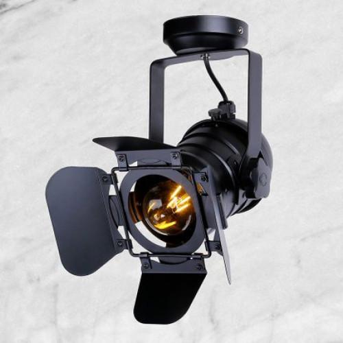 Прожектор в стиле лофт PL5220 BK