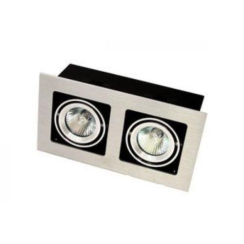 Точечный светильник врезной под патрон GU 5.3 Prima Luce 102