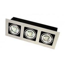 Точечный светильник врезной под патрон GU 5.3 Prima Luce 103