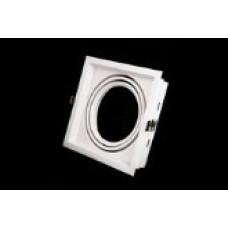 Точечный светильник врезной под патрон G53 Prima Luce 15-1