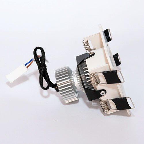 Точечный светодиодный светильник врезной Prima Luce 464-1 7W