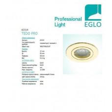 Точковий світильник Eglo TEDO PRO 61514