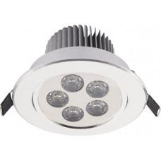 Світильник типу Downlight Nowodvorski DOWNLIGHT LED SILVER 6822