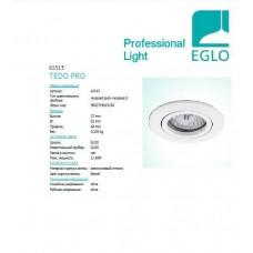 Точковий світильник Eglo TEDO PRO 61513