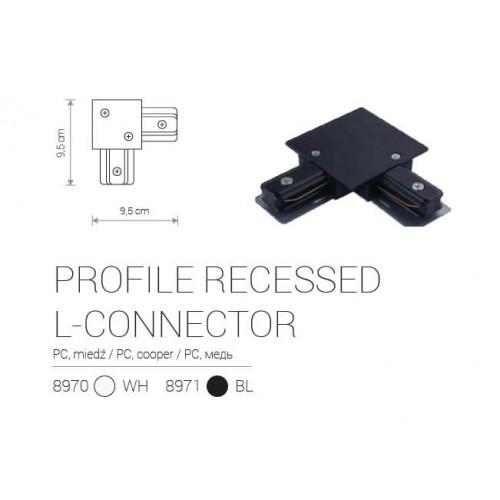 L-Конектор Nowodvorski PROFILE RECESSED L-CONNECTOR 8971