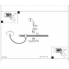 Елемент трекової системи Eglo VILLANOVA 1 61341