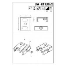 Кріплення Ideal Lux LINK TRIMLESS ON/OFF KIT SURFACE 169989