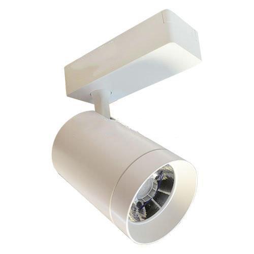 Трековый светильник светодиодный SRSCW7 20W с Антибликовым покрытием