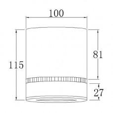 Светодиодный трековый светильник Prima Luce AR-G02