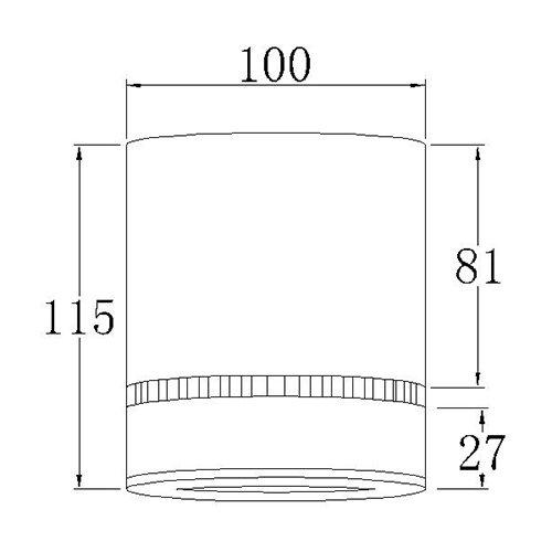 Точечный светодиодный светильник Prima Luce AR-G02-sm