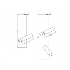 Светодиодный трековый светильник Prima Luce AR-077 GU10